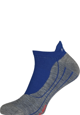 FALKE RU4 invisible heren hardoopsokken, blauw (athletic blue)