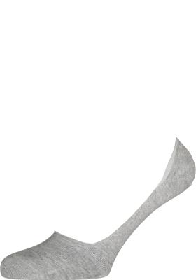 Burlington Everyday dames invisible sokken (2-pack), katoen, licht grijs