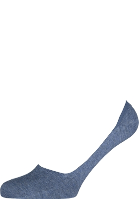 Burlington Everyday dames invisible sokken (2-pack), katoen, licht jeans blauw