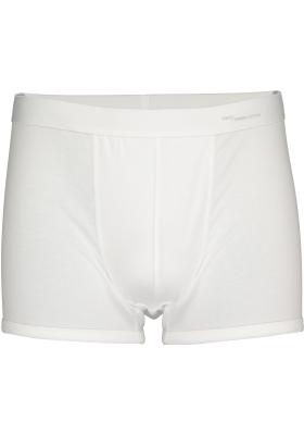 Mey Casual Cotton shorty (1-pack), heren boxer kort met zachte tailleband, wit