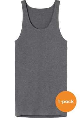 SCHIESSER Original Feinribb singlet (1-pack), antraciet grijs melange