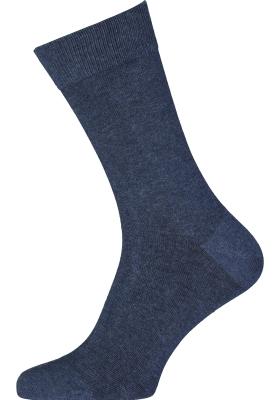 VENT herensokken katoen (2-pack), jeansblauw