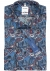 OLYMP Tendenz modern fit overhemd, blauw, rood, wit paisely dessin