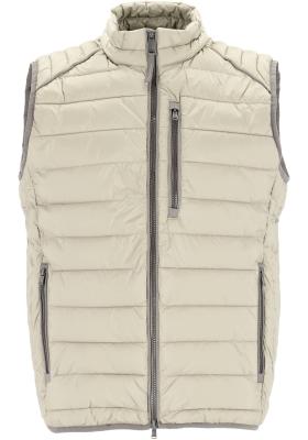 CASA MODA comfort fit bodywarmer (middeldik), beige